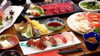 【白老牛コース】北海道を代表する和牛を食べつくす!新鮮魚介料理も合わせてボリューム満点♪