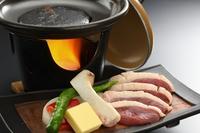 鴨肉と海鮮を選べる♪陶板焼きスタンダードプラン★☆★