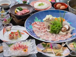 当館オリジナル有田鶏水炊き風鍋プラン!