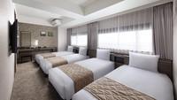 ファミリー【32平米】ベッド4台<禁煙室>