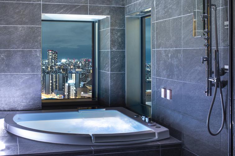 広々としたお風呂が人気です