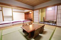 【期間限定】お得な素泊まりプラン 禁煙和室特別室(1名〜6名様向け)Wi-Fi完備