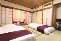 【禁煙】10畳和室 2ベットマットタイプ Wi-Fi完備