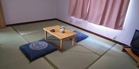 すだちのお部屋:昨年9月に畳、ドア、壁紙を新しくしました。