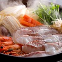 鍋ダイニング・いいそで愉しむ〜 島の魅力を詰め込んだ淡路鯛の和風乳清スープ鍋と淡路牛の石焼コース