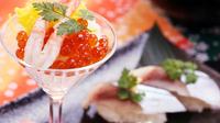 【グレードアップ】和牛のポアレ&鮮魚の握り■元ホテルシェフが腕を振るう本格会席料理