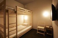 <半個室>テレビ付ツインルーム(2段ベッド)