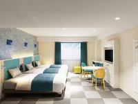 全室禁煙◆ファミリールーム◆ベッド3台