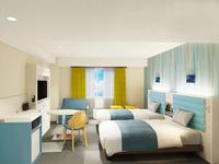 全室禁煙◆ツインスタンダード2◆ベッド2台+ソファーベッド