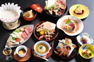 1泊2食・京野菜と湯葉会席プラン