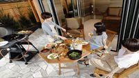 【夏季限定】レストランNaz特選★信州BBQセットプラン<熟成サーモン+チーズ盛り合わせ等>