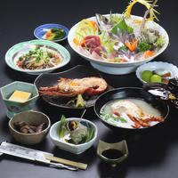 【海の幸プラン1泊2食】豪華海鮮会席を愉しむ♪選べる伊勢海老料理1品付♪
