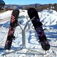 【リフト1日券付】野沢温泉スキー場でスキー&スノボ!信濃みゆきポーク陶板焼きを満喫【お先でスノ。】