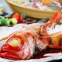 2食付◆ 下田産金目鯛&国産肉!素材にこだわった本格手作り和食★