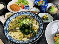 【リーズナブル】天然温泉でゆったり♪定番の山菜そば/うどん定食プラン【1泊2食付き】