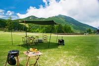 標高2000mでの高峰高原 信州牛BBQプラン【夕食・朝食・昼食(BBQ)付】