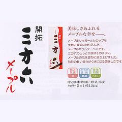 【柳月:三方六メープル】のお土産付きプラン 【トク旅北海道】