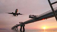 飛行機好き必見!海上から飛行機の離発着を楽しめるボートツアー付素泊まりプラン♪