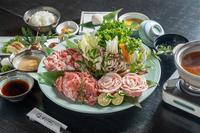 ☆満腹プラン☆窪川米豚食べくらべプラン