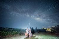 星空プライベートプラン★1組貸切★10名まで★万座毛満天の星空に出会う旅へ