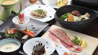 【1泊2食付◆レストラン】プライベート感抜群のコテージ&本格ログのレストランで信州食材を堪能!
