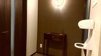 【当日限定割引プラン】セミスイートルーム(クイーンベッド&セミダブルベッド)
