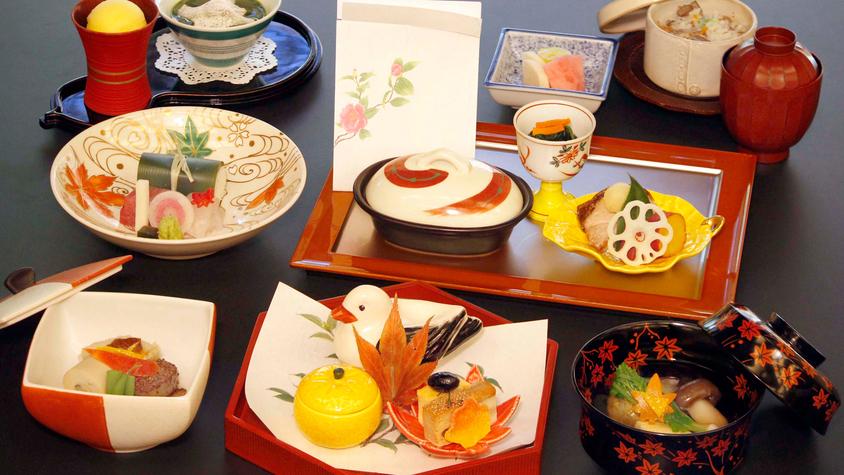 ■日本料理×グレードアップコース■記念日・ご褒美旅行にオススメ