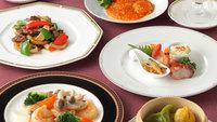 ■中国料理×スタンダードコース■迷ったらコレ!落ち着いた空間で中国料理を堪能 ≪ワンドリンク付≫
