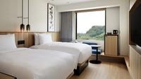 【禁煙】ツインルーム 25平米 <ベッド幅120cm×2台>