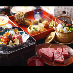 【地元神戸牛150g付】美味&大好評♪炭火鉄板で味わうステーキ懐石≪夕食・朝食共にレストランにて≫