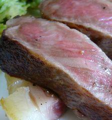 メインディッシュは【特選A-5ランク米沢牛フィレステーキ】〜新鮮で安心な自家栽培の野菜やお米と一緒に