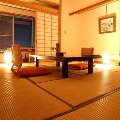自家源泉の温泉とゆったり10畳の和室でリラックス!お日にち限定・和室シングルプラン(朝食付き)
