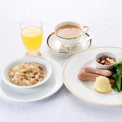 【1泊ご朝食付】にごり湯を満喫♪3種類ある洋朝食からご選択!明星ヶ岳の大文字を眺めながらご朝食を