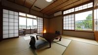 純和風の造りの落ち着いた雰囲気の本館和室(8畳)