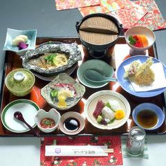 美作の四季を彩る☆季節の会席膳プラン☆