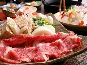 牛スキ・寄せ鍋・鯛しゃぶから選べる!三種の鍋会席プラン〈鍋会席・お部屋食〉