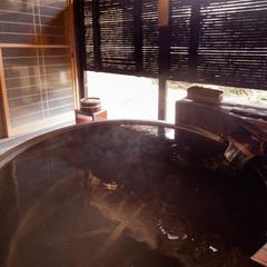 【貴賓室 曲水亭-夕顔-】露天風呂付き客室