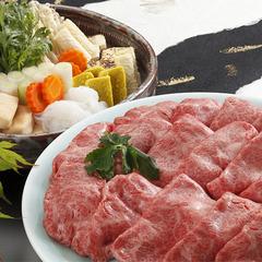 【さき楽14/神戸BEEFすき焼き】特製割下で頂く♪トロける最高級神戸牛 / 50031-R14