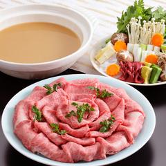 【さき楽14/神戸BEEF金泉鍋】有馬の赤湯をイメージ!当館オリジナル味噌鍋 / 50055-R14