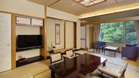 和室12帖+広縁(7平米)【絶景の露天風呂付き客室】