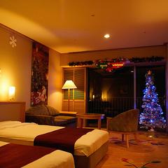 <バイキング>★1日3室限定!ロマンティッククリスマスルーム★忘れられない休日をシャンパンで乾杯♪