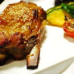 【お肉Aコース】薩摩産♪黒毛和牛ステーキ&黒豚スペアリブ