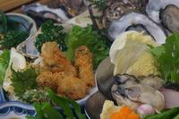 【答志島ブランド牡蠣】〜桃こまち〜島の牡蠣づくしプラン