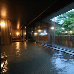 【ビジネス編】出張時だって温泉旅館で寛ぎたい♪「源泉かけ流し」の美肌温泉で湯ったり♪【朝食付】