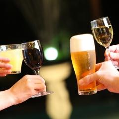 【意外と熱海】飲み放題60分&アーリー14時☆生ビールOK☆揚げたて天ぷら食べ放題♪夜は夜鳴ラーメン