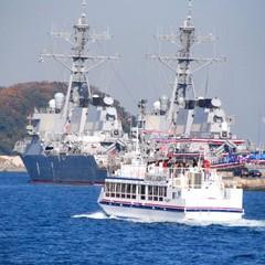 【朝食付】横須賀軍港めぐり!乗船券付きプラン☆12:00レイトアウト◎