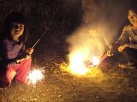 【親子孫たび】コテージの庭で花火を囲もう♪花火セットプレゼント付き☆【コテージB専用】