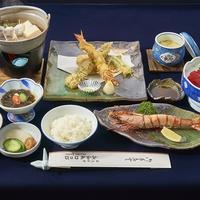 【冬春旅セール】紀州温泉&和歌浦の海の幸を堪能☆柔らかい食感と甘みが魅力!足赤えびの定番コース