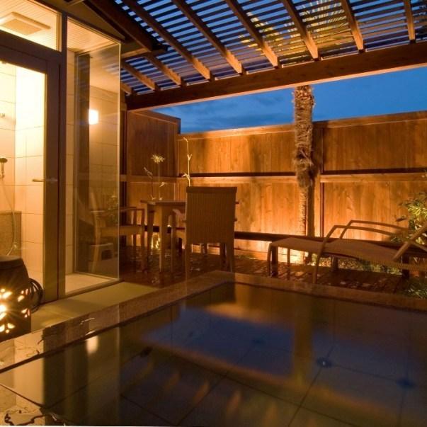 露天風呂付客室を体験、なんと一泊二食で15000円のモニター価格♪【1日3組様まで】