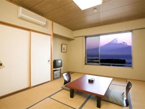 富士山が真正面に見える部屋でゆったりのんびりプラン